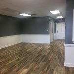 Luxury Vinyl Planks in Residential/Commercial space